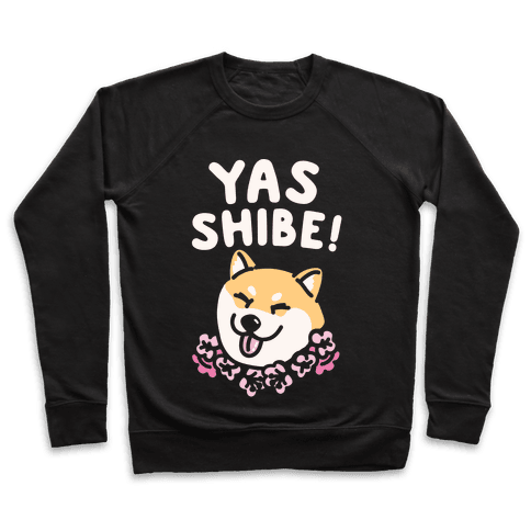 Yas Queen White Print Pullover