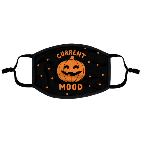 Current Mood: Halloween Flat Face Mask