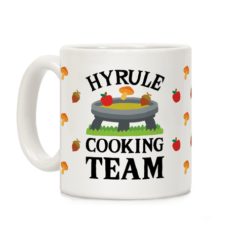 Hyrule Cooking Team Coffee Mug