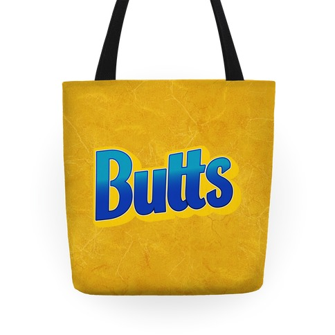 Butts Candy Logo Tote