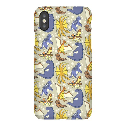 Godzilla and Friends Pattern Phone Case