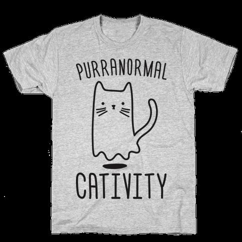 Purranormal Cativity Mens/Unisex T-Shirt