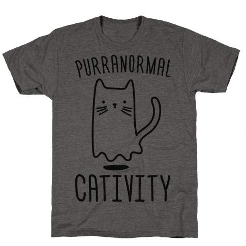 Purranormal Cativity Mens T-Shirt