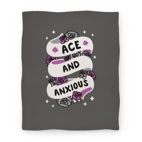 Ace And Anxious Blanket