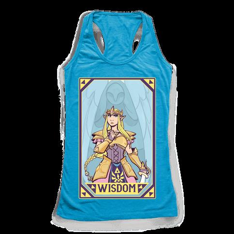 Wisdom - Zelda Racerback Tank Top
