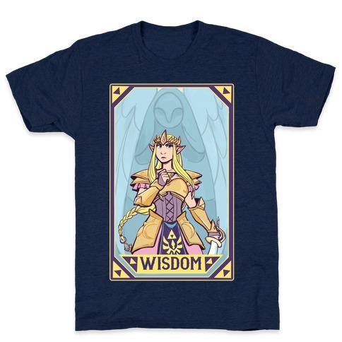 Wisdom - Zelda Mens T-Shirt