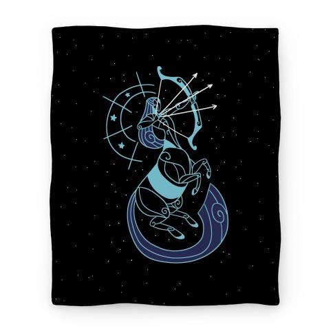 Stylized Sagittarius Blanket
