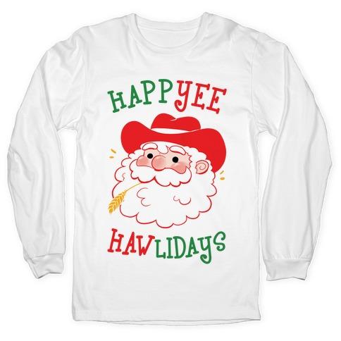 HappYEE HAWlidays Long Sleeve T-Shirt