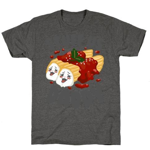 Stuff Us Daddy Manicotti T-Shirt
