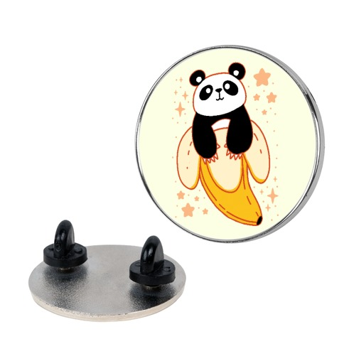 Banana Panda Pin