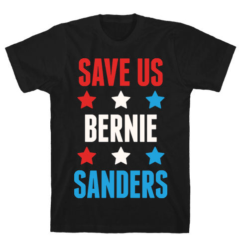 Save Us Bernie Sanders Mens T-Shirt