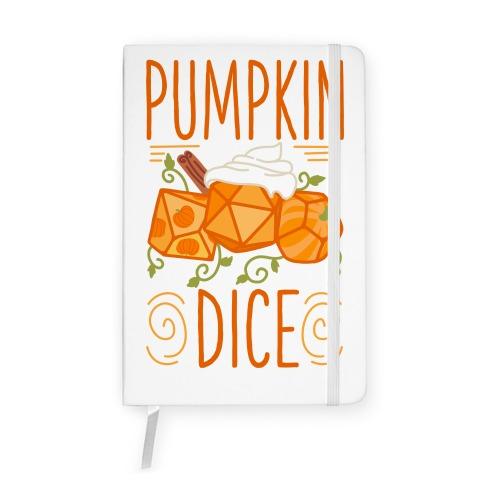 Pumpkin Dice Notebook
