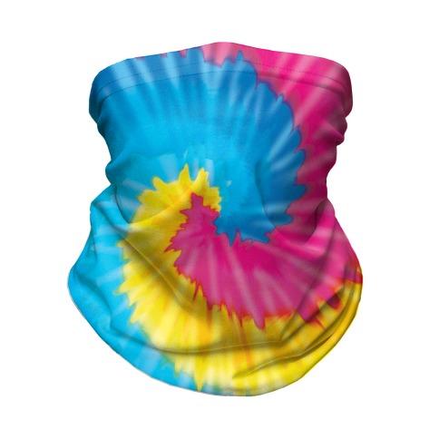LGBTie dye: Pan Neck Gaiter