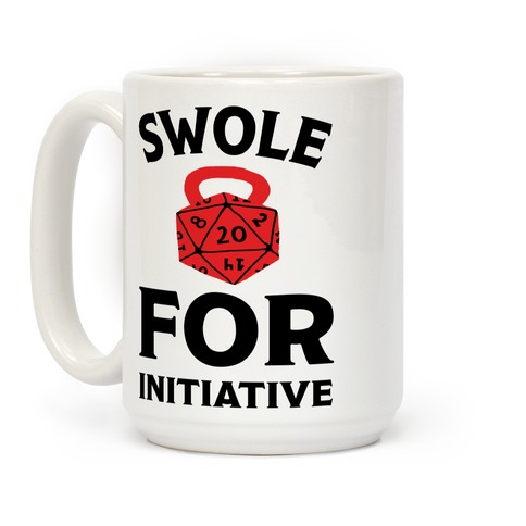 Swole For Initiative D20 Coffee Mug