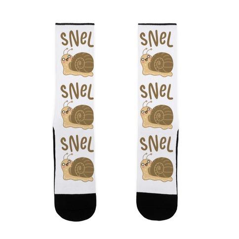 Snel Derpy Snail Sock