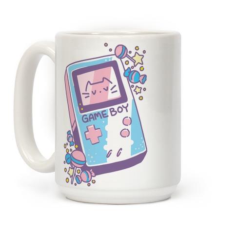 Game Boy - Trans Pride Coffee Mug