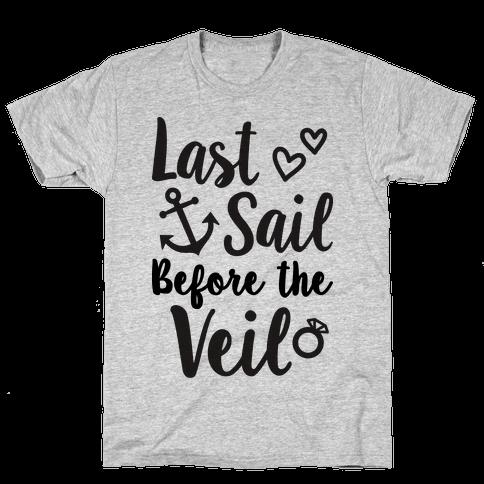 Last Sail Before The Veil Mens T-Shirt