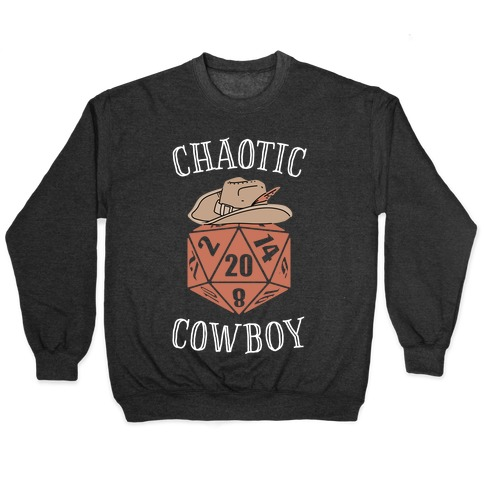 Chaotic cowboy Pullover