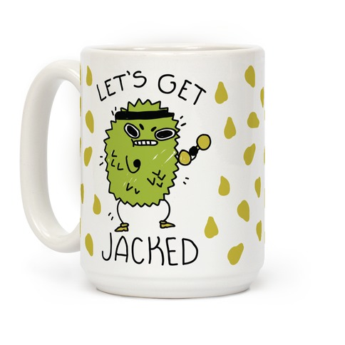 Let's Get Jacked Fruit Coffee Mug