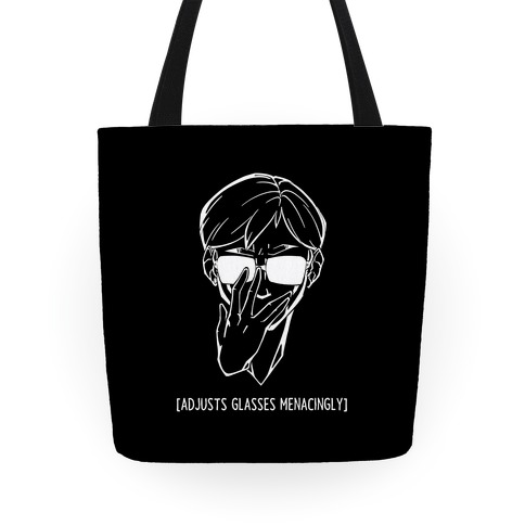 Adjusts Glasses Menacingly Tote