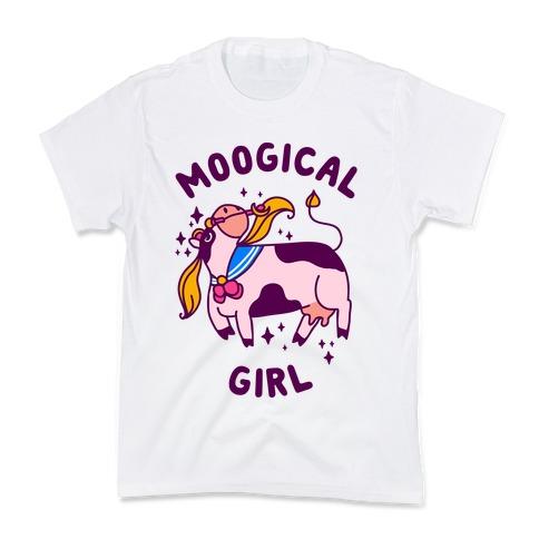 Moogical Girl Kids T-Shirt
