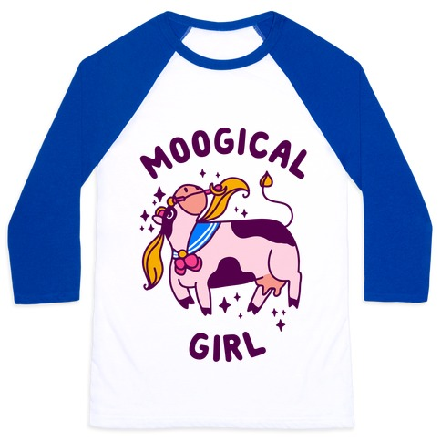 Moogical Girl Baseball Tee