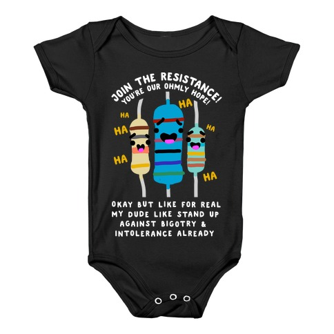 Join the Resistance  Baby Onesy
