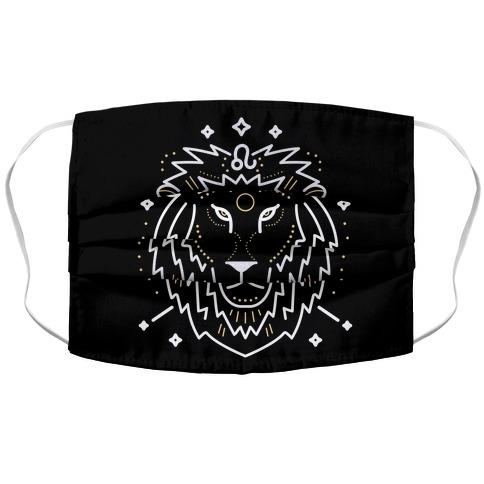 Astrology Leo Lion Face Mask