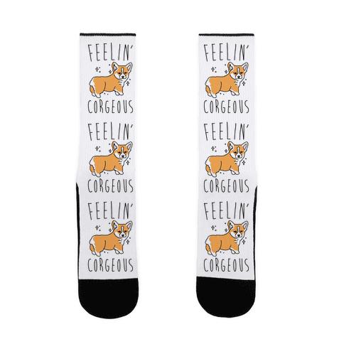 Feelin' Corgeous  Sock