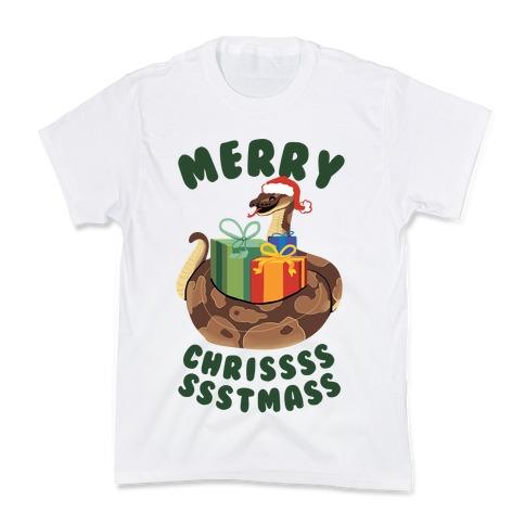 Merry Chrissssssstmass! Kids T-Shirt