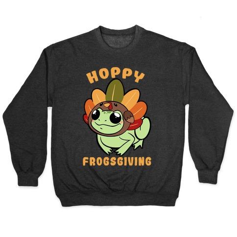 Hoppy Frogsgiving Pullover