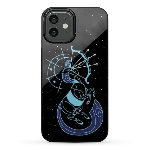 Stylized Sagittarius Phone Case