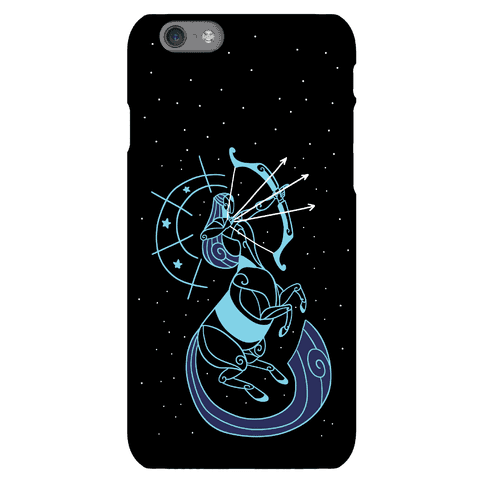 Stylized Sagittarius  Phone Case