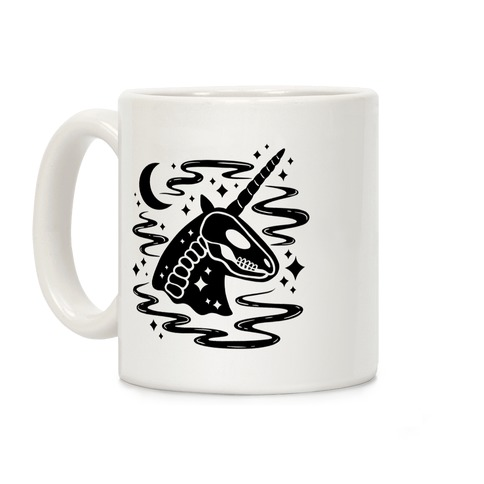 Spooky Ghost Unicorn Coffee Mug