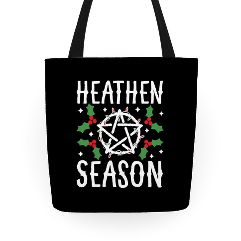 Heathen Season Christmas Tote
