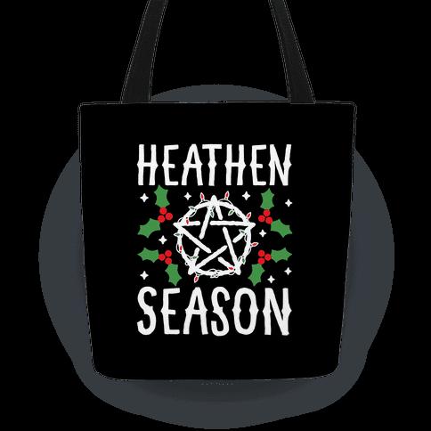Heathen Season Christmas Tote