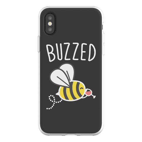 Buzzed Wine Bee Phone Flexi-Case