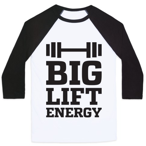 Big Lift Energy Baseball Tee