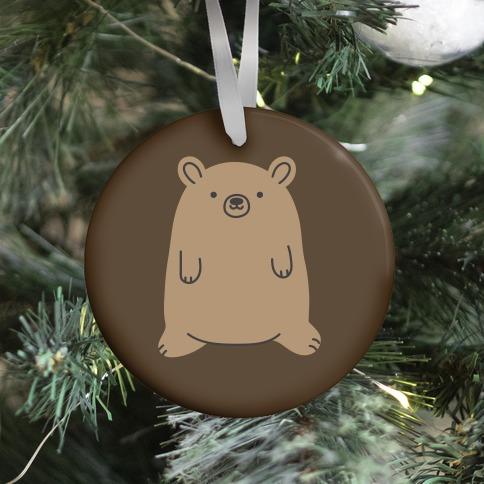 Fat Bear Ornament