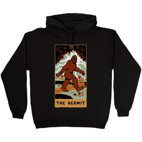The Hermit (Bigfoot) Hooded Sweatshirt
