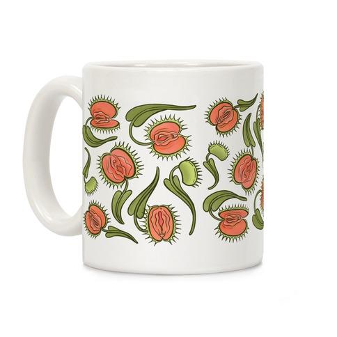 Venus Flytrap Vulvas Coffee Mug