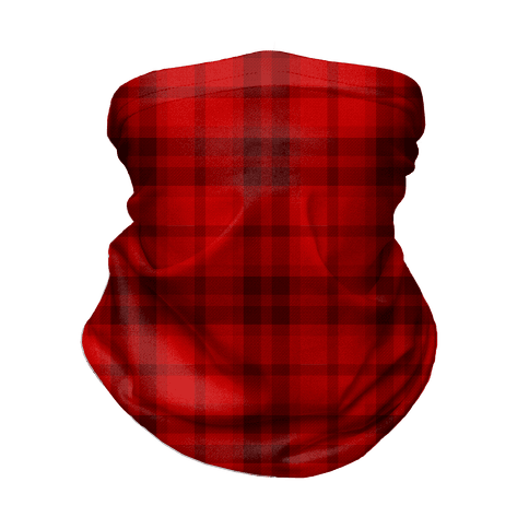 Red Plaid Neck Gaiter