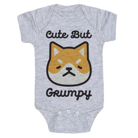 Cute But Grumpy Baby Baby Onesy