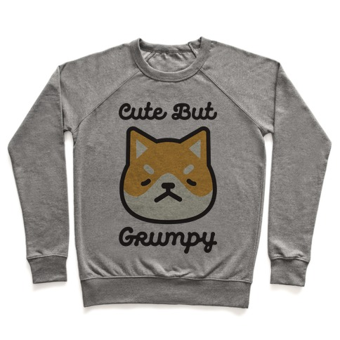 Cute But Grumpy Baby Pullover