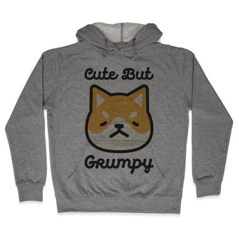 Cute But Grumpy Baby Hooded Sweatshirt