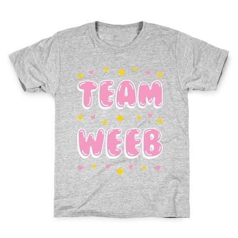 Team Weeb Kids T-Shirt