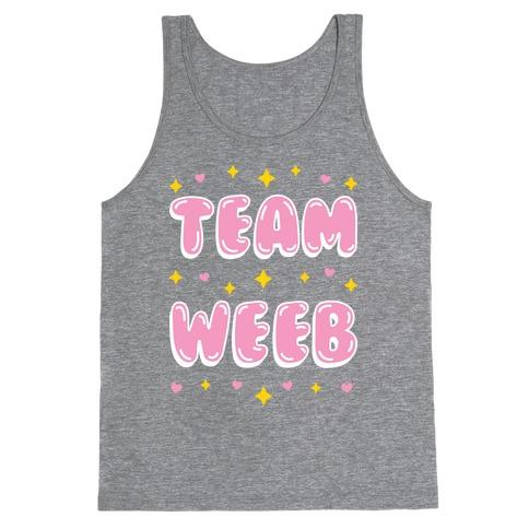 Team Weeb Tank Top