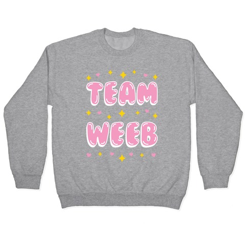 Team Weeb Pullover