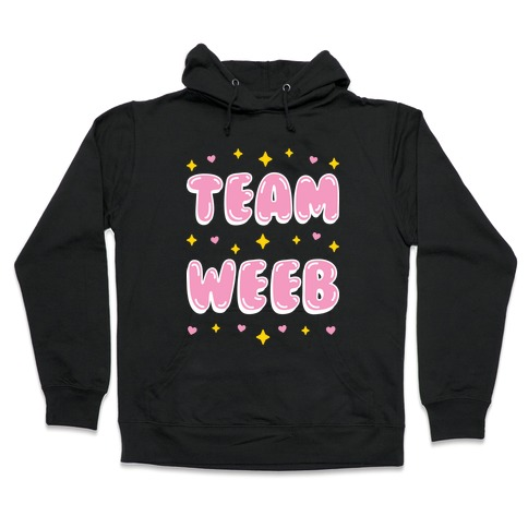 Team Weeb Hooded Sweatshirt