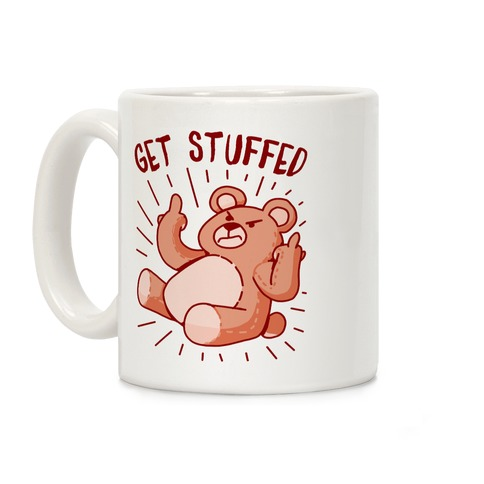 Get Stuffed Teddy Bear Coffee Mug
